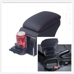 $enCountryForm.capitalKeyWord Australia - For Kia Soul 2010 2011 2012 2013 Leather Car Interior Parts Center Console Armrest Box Auto Armrests Storage with USB