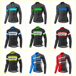 Giant Bicycles Shirts Australia - GIANT team Cycling long Sleeves jersey 2019 Men Breathable Bicycle Clothing Quick-Dry Ropa Ciclismo Mountain Wear U61320