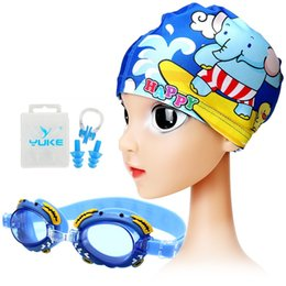 children swimming wears UK - Boy Girl Relefree Goggles For Children Anti Fog Swimming Glasses Suit Kids Diving surfing goggles Optical Reduce Glare Eye wear