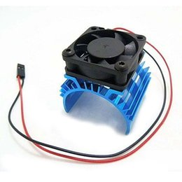 Wholesale meta Heat sink with V Cooling Fan for RC Car Size Motor
