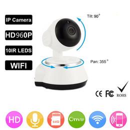 Audio Surveillance Infrared Australia - HD 960P Wireless Security IP Camera WifiI Wi-fi Camera R-Cut Night Vision Audio Recording Surveillance Network Baby Monitor