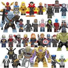 Guardians Galaxy buildinG blocks online shopping - Marvel Super Heroes Infinity War Thanos Guardians of Galaxy Spider iron man Avengers THOR Building Blocks Toys Figures