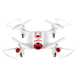 Camera Mini Motor UK - SYMA X20W Mini RC Drone RTF WiFi Camera FPV Real-Time Transit   Altitude Hold RC Drone Quadcopter Aircraft Gifts