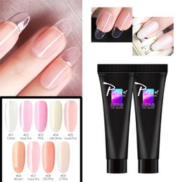 Discount extending stick Best Selling Products Extend Gel Nail Light Cure Gel Transparent Reinforcement Stick Drilling Glue Dropshipping Wholesal