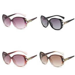 China Women Sunglasses Fox Decoration UV400 Protection Retro Eyewear Steampunk Vintage Big Frame Coating Sunglasses for Driving Cycling cheap fox cycling suppliers