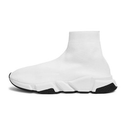 $enCountryForm.capitalKeyWord Australia - 2019 designer Socks Shoes Speed trainers mens womens fashion Sneakers black white flat runner slip on canvas shoe size 36-45 2bbbvcb