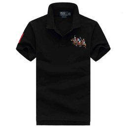 brand pony shirt Australia - NEW ralph Polo t shirt lauren mens polos t shirt brand luxury shirts man designer clothing t shirts Embroidery Pony mark quality polos tees