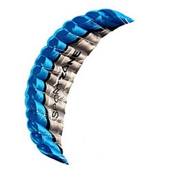 Venta al por mayor de Alta Calidad de 2,5 m Herramientas dual azul Línea Parafoil cometa WithFlying potencia trenza vela de kitesurf Rainbow Beach Deportes