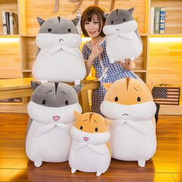 $enCountryForm.capitalKeyWord Australia - 2019 The New Best-selling Pretty Cute Hamster Down Cotton Doll Children's Doll Doll Plush Toy Filled Pillow
