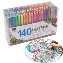 48 gel pens online shopping - 24 Party Fluorescent Gel Pen Refills Multi color Watercolor Brush Pen Refills For Colorful Paintings Gift New