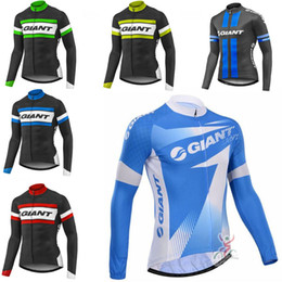 f62f519ae Ropa Ciclismo GIANT Pro Team Mountain Bike Clothes MTB Bicycle Clothing Men  Cycling Jersey long sleeve Tops outdoor sportswear A17