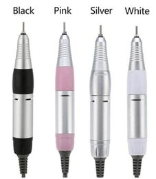 Wholesale Professional Electric Nail Art Drill Pen Handle File Polish Grind Machine Handpiece Manicure Pedicure Tool Nail Art Accessories