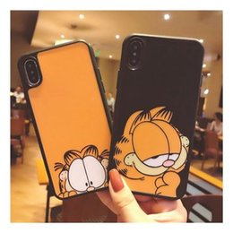 $enCountryForm.capitalKeyWord NZ - Cartoon cute fat cat for iphoneX mobile phone shell iphone 7p silicone 6s all-inclusive XR 8 men and women MAX