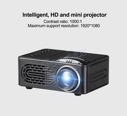 $enCountryForm.capitalKeyWord Australia - High Version RD814 Projector LCD Mini Multimedia Player Home Theater Projector Support 1080P With Battery Can be Used ship free DHL