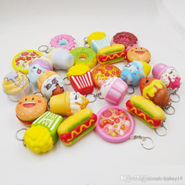 Kids Dog Australia - MIX Soft hamburgers hot dog doughnuts Squishy Toys Slow Rising for Children Adults Relieves Stress Anxiety Home Decoration toy for kids gift