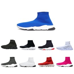 Designer Sock Shoes Triple Black White Men Women Fashion Sneakers Glitter Yellow Bue Pink Fashion Men Trainer Runner Platform Shoe on Sale
