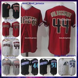 Discount paul goldschmidt jersey - 44 Paul Goldschmidt Jersey 51 Randy Johnson Jersey Arizona jerseys Diamondbacks Majestic Coolbase Jersey hot sale