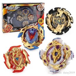 beyblade sets 2019 - Level limited gold edition set 4D beyblade burst Spinning top set gyro 4 in 1 hand sword tray competitive christmas gift