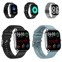 3d smart watch UK - Fitness Bracelet Q58S 1.3 Inch 3D Ui Heart Rate Monitor Pressure Measurement Activity Tracker Bluetooth DT-35 Smart Watch Men Women #QA73494