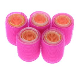 $enCountryForm.capitalKeyWord Australia - 15pcs set 3 Size Hairdressing Home Use DIY Magic Large Self-Adhesive Hair Rollers Styling Roller Roll Curler Beauty Tool