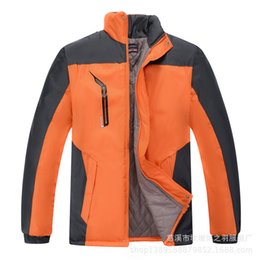 Waterproof Zipper Sale NZ - 2018 Rushed Hot Sale Zipper Ski-wear Male Eiderdown Outdoor Clothing Men Leisure Men's Manufacturer With Thick Winter Coat