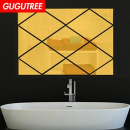 $enCountryForm.capitalKeyWord NZ - Decorate Home 3D geometry cartoon mirror art wall sticker decoration Decals mural painting Removable Decor Wallpaper G-341