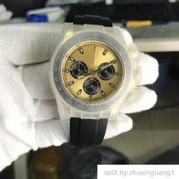 $enCountryForm.capitalKeyWord NZ - Designer 7750 Swiss Movement Mens Dayt0na Automatic Chronograph Stainless Sateel Black Rubber Strap Original Clasp Top Quality