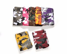 camo sweatpants UK - WomenHigh Couple Cargo Hip Mens Quality Joggers Hop Streetwear Contrast Camo Camouflage Pants Color Sweatpants Heorq