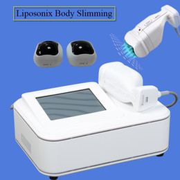 Cellulite massage treatment online shopping - Liposonix machine Body Slimming Weight Loss cellulite reduction machine skin tightening liposonix ultrasound ultrasonic massage treatment