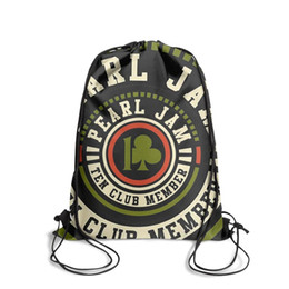 $enCountryForm.capitalKeyWord Australia - PEARL JAM Ten Club StickerFashion cinch belt backpack, design cool character durable and convenient string package, suitable for outdoor
