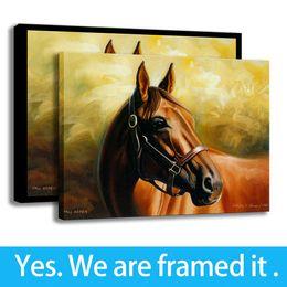Art Dreams Canvas Print NZ - HD Print Fantasy Art Dream Horse Painting Wall Decor Canvas Framed Art - Ready To Hang - Support Customization