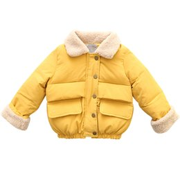 $enCountryForm.capitalKeyWord UK - Baby Girls Winter Down Coats Kids Thickening Warm Snow Jackets Plus Velvet Cotton Paded Parkas For Girls Christmas Outerwear