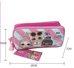 $enCountryForm.capitalKeyWord Australia - Kawaii cartoon doll Pen Case kid Coin Purse Cosmetic Makeup Pouch Storage Kids Birthday Gift zx001