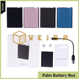 top quality vape mods NZ - Palm Vape 550mAh Rechargeable Battery Box Mod With Inhale Activated510 Thread Auto Draw Battery For Thick Oil Cartridges Tank Top Quality