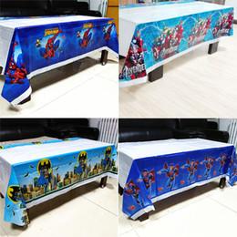 $enCountryForm.capitalKeyWord Australia - superhero spider man tablecloth baby shower Plastic table cloth kid birthday party decoration
