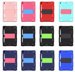 Ipad aIr shell online shopping - Shockproof Protector Case Armor Robot Full Body PC Silicone Protective Cover Case for iPad Pro Air2 mini Samsung