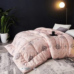 $enCountryForm.capitalKeyWord Australia - Goose down high grade stereo winter comforter warm thicken velvet quilt bedding printed duvet 200x230 220x240cm queen king size