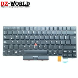 Großhandel Neu / Neues ES SPA LAS Lateinamerikanische spanische Tastatur mit Hintergrundbeleuchtung für Thinkpad T470 A475 T480 Teclado 01AX572 01AX531 01AX490