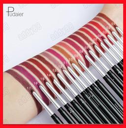$enCountryForm.capitalKeyWord NZ - 2019 New Pudaier Lip makeup eye makeup matte lipliner lipstick outlinerr longwear lip pencil eyeshadow eyeliner pencil 17 colors