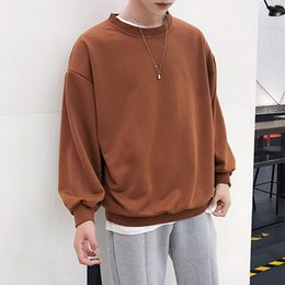 5ed27a18fe4 2018 Spring New Plain Oversized Hoodie Sweatshirt Men Korean Couple Casual  Pullover Harajuku Streetwear Hiphop Hooded Sweatshirts Top