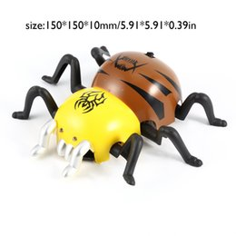 novelty toy cars NZ - RC Toys RC Animals Novelty Gags Remote Control Spiders Crawling Insect Halloween Horror Practical Jokes
