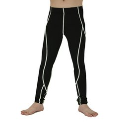 $enCountryForm.capitalKeyWord Australia - wholesale Kids Fitness Pants Compression Quick Dry Breathable Boys Tight Leggings Child Skinny Pant Hombre Trousers
