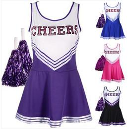 Wholesale fancy uniforms online – ideas Cheerleading Uniform Sexy Baby Girl Lala Team Dance Ball Service Music Costume Fancy Dress Lala Uniform