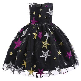 China Girls Princess Flower Petals Dress Bridesmaid Party Outfits For Girl Baby Kids Christmas Clothes Kids Vestido Prom Dress Costume cheap clothing for bridesmaids suppliers