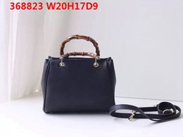 import bags NZ - Handle Wide Latest ! Leather Natural Bags Multipurpose Women Imported 20cm Soft Shoulder Bamboo Recommend Leather Crossbody With Box Ufcnj