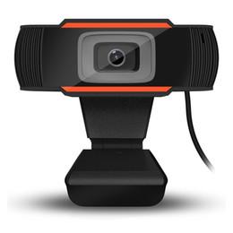 $enCountryForm.capitalKeyWord Australia - Hot Promotion HD Webcam Digital Video Webcamera Built In Sound Absorption Microphone USB2.0 For Laptop Desktop Computer A870