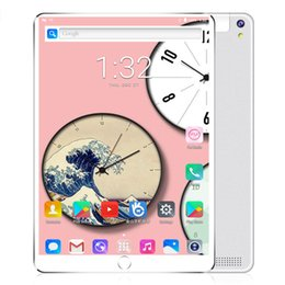 $enCountryForm.capitalKeyWord Australia - 2.5D Tempered Glass10.1 Inch Tablet PC Android 8.1 3G Phone Call Octa Core 64GB+4GB Dual SIM Card Slots Bluetooth WiFi Tablet PC