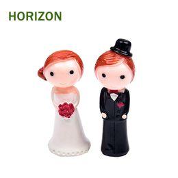 $enCountryForm.capitalKeyWord UK - ecoration Crafts Figurines Miniatures 2Pcs lot Kawaii Zakka Action Figure Couple Marry Wedding DIY Micro Landscape Fairy Garden Gnome Hom...