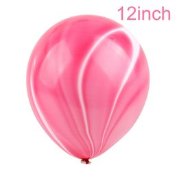 kids eva hats Australia - 11pcs Unicorn Balloons Birthday Party Pink Rainbow Agate Balloon Kids Party Favors Gifts Baby Shows Backdrop Decor cartoon hat