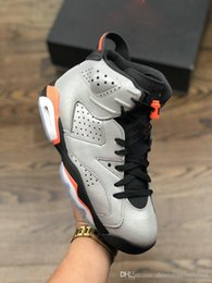 special basketball NZ - Special Promotion 6s Reflective Silver Men High Top Shoes Increase Sport Fashion Casual Basketball Shoes On Sale With Original Box Shipping